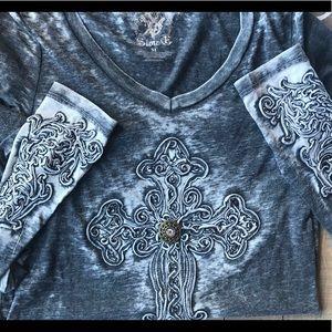 Tops - Medium Cross long sleeve